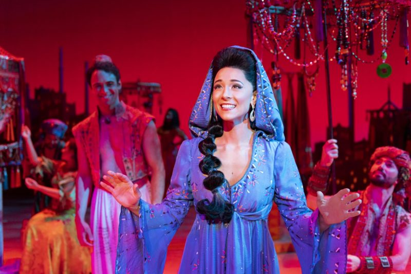 Lissa deGuzman (Jasmine).  Aladdin North American Tour. Photo by Deen van Meer. © Disney
