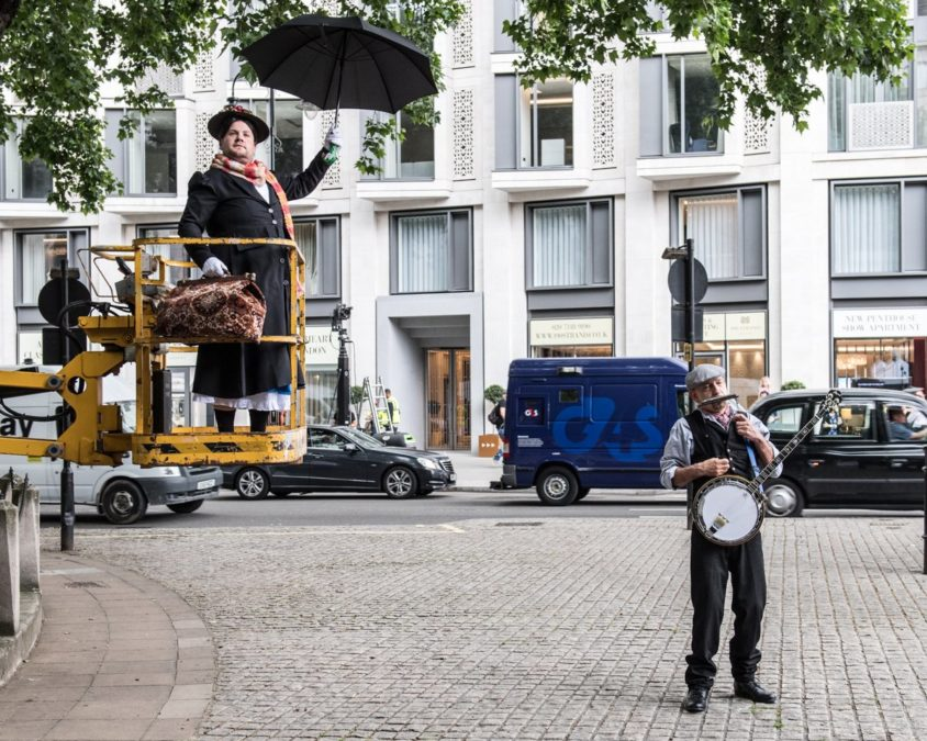 WI - James Cordon poppins - Photo: Craig SugdenCBS