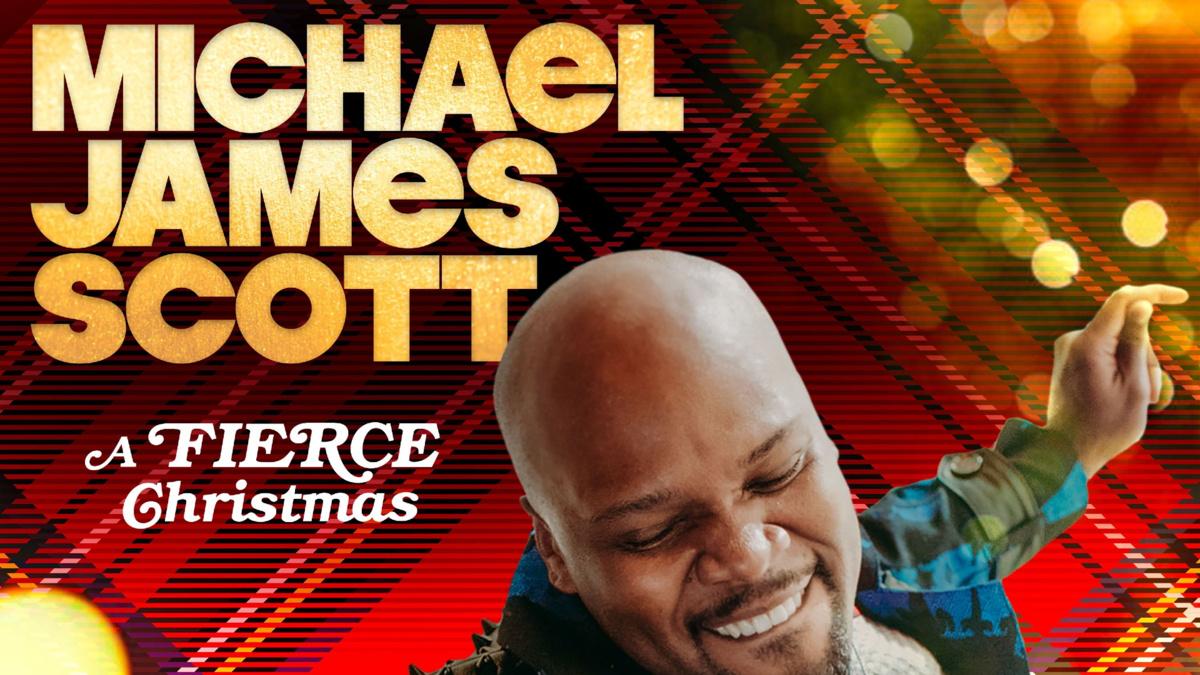 Michael James Scott - A Fierce Christmas Album Art - 11/20