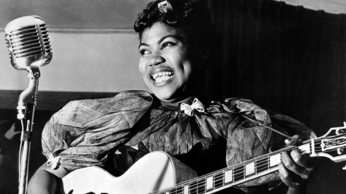 Sister Rosetta Tharpe c- photo:  Michael Ochs Archives Getty Images